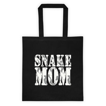Proud Snake Mom Herping Herpetology Herper Snakes Tote Bag + House Of HaHa Best Cool Funniest Funny Gifts