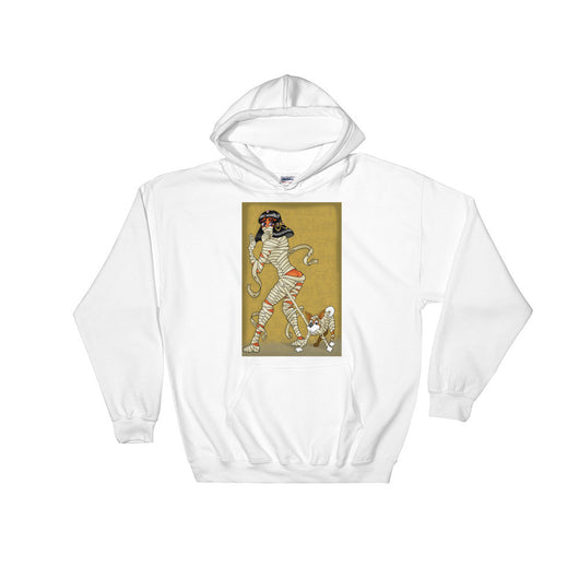 Mummy Pin-Up Heavy Hooded Hoodie Sweatshirt + House Of HaHa
