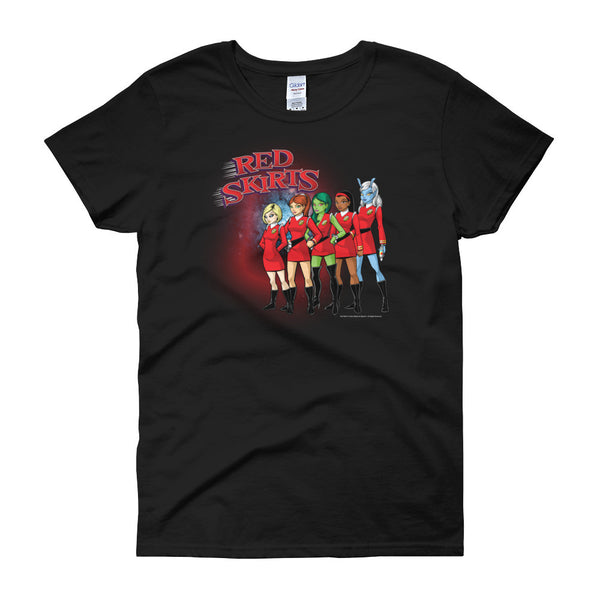 Red Skirts Security Team Women's Short Sleeve T-shirt - House Of HaHa