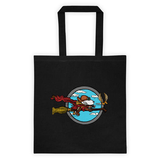 Wizard Flying Ace Double Sided Print Tote Bag + House Of HaHa