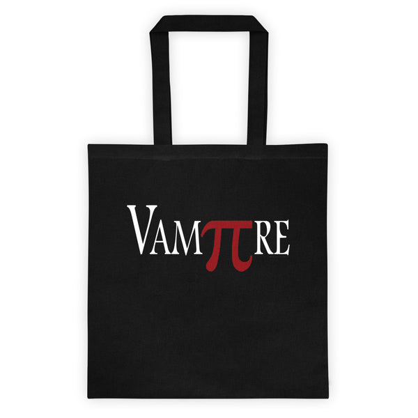 VamPIre Pi Mathematical Constant Algebra Pun Tote bag + House Of HaHa Best Cool Funniest Funny Gifts