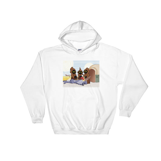 Weenie Roast Men's Heavy Hooded Hoodie Sweatshirt + House Of HaHa