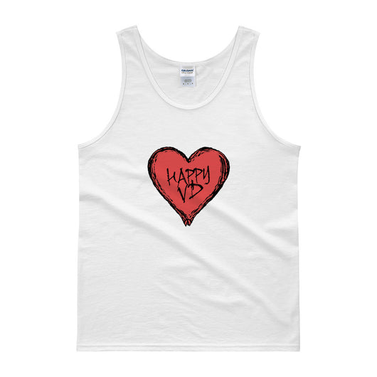 Happy VD Valentines Day Heart STD Holiday Humor Tank top + House Of HaHa Best Cool Funniest Funny T-Shirts
