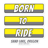 Born to Ride Sand Lake Oregon ATV Bubble-free stickers + House Of HaHa Best Cool Funniest Funny T-Shirts