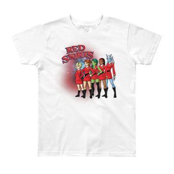 Red Skirts Security Team Youth Short Sleeve T-Shirt - Made in USA - House Of HaHa