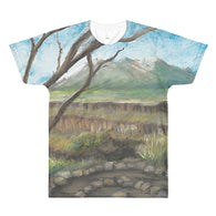 Rio Grande Del Norte National Monument New Mexico All-Over Printed T-Shirt by Melody Gardy + House Of HaHa Best Cool Funniest Funny T-Shirts