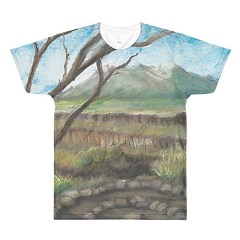 Rio Grande Del Norte National Monument New Mexico All-Over Printed T-Shirt by Melody Gardy + House Of HaHa Best Cool Funniest Funny Gifts