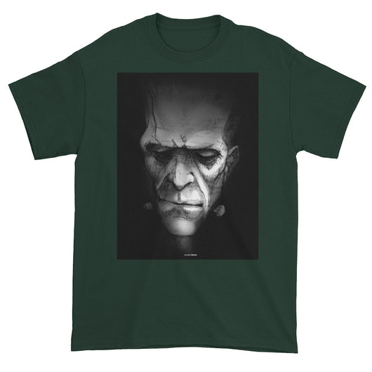 Frankenstein's Monster Men's Short Sleeve T-Shirt + House Of HaHa Best Cool Funniest Funny T-Shirts
