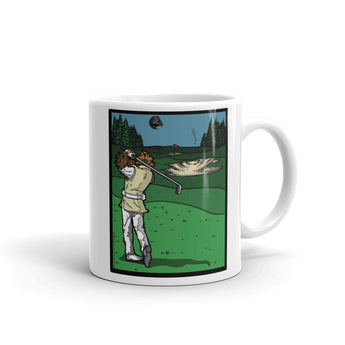 It's a Sand Trap! Admiral Ackbar Sand Hazard Golf Meme Mug + House Of HaHa Best Cool Funniest Funny Gifts