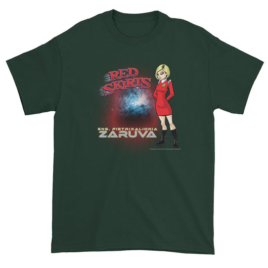 Red Skirts: Ensign Zaruva Men's Short Sleeve T-Shirt + House Of HaHa Best Cool Funniest Funny Gifts