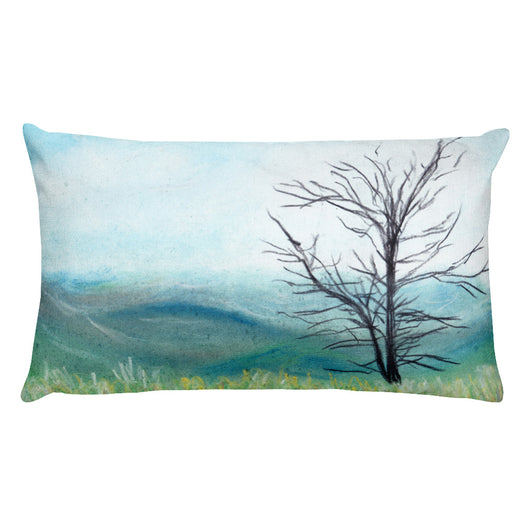 Shenandoah National Park Virginia Rectangular Pillow by Melody Gardy + House Of HaHa Best Cool Funniest Funny T-Shirts