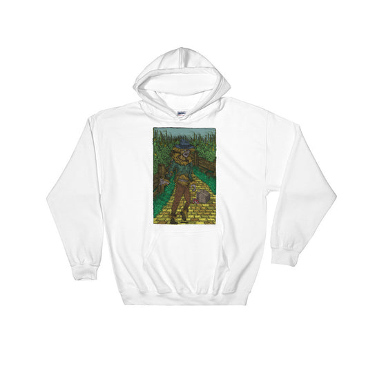 Walkers Of Oz: Zombie Wizard of Oz Cornfield Parody  Heavy Hooded Hoodie Sweatshirt + House Of HaHa