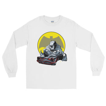 Lil Batmobile Long Sleeve Men's T-Shirt + House Of HaHa Best Cool Funniest Funny Gifts
