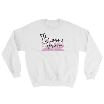 Bunny Vomit Logo Men's Sweatshirt + House Of HaHa Best Cool Funniest Funny Gifts