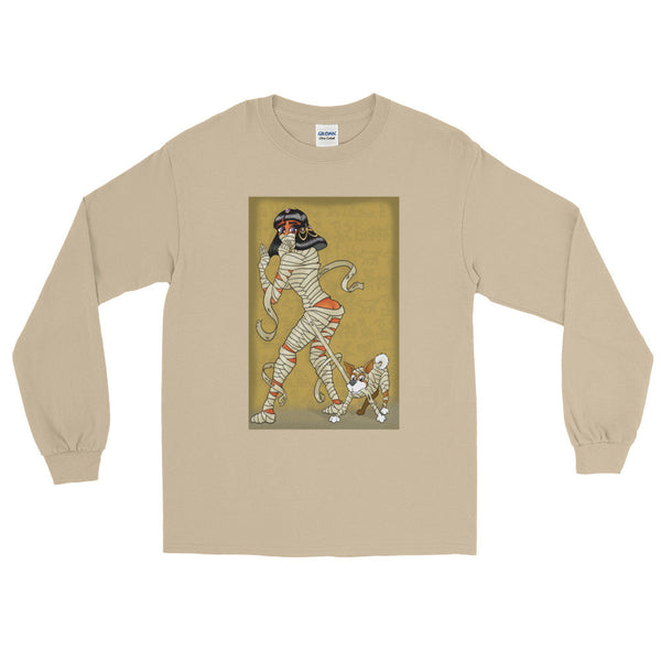 Mummy Pin-Up Men's Long Sleeve T-Shirt + House Of HaHa Best Cool Funniest Funny Gifts
