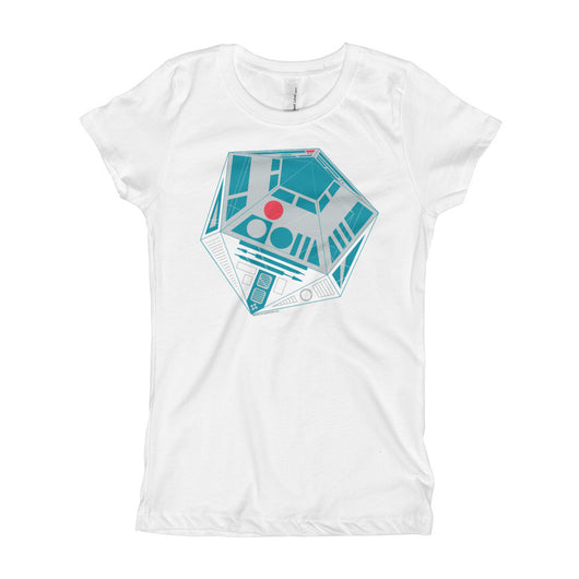 R2-D20 Star Wars Twenty Sided Gaming Die Girl's Princess T-Shirt + House Of HaHa