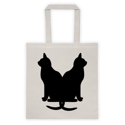 Black Cats Lucky Kitty Tote bag + House Of HaHa Best Cool Funniest Funny T-Shirts