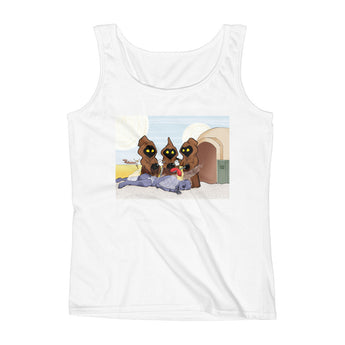 Weenie Roast Ladies' Tank Top + House Of HaHa Best Cool Funniest Funny Gifts