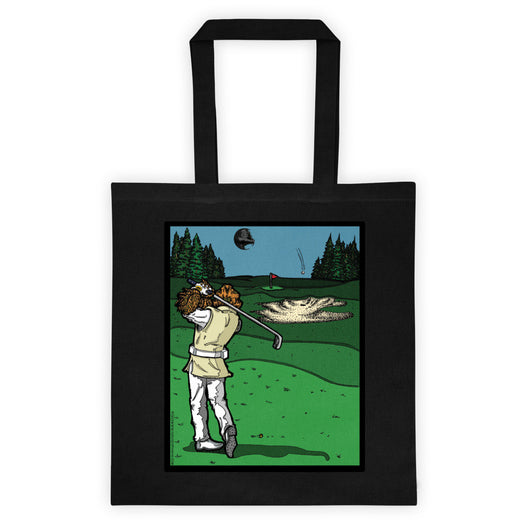It's a Sand Trap! Admiral Ackbar Sand Hazard Golf Meme Double Sided Print Tote Bag + House Of HaHa