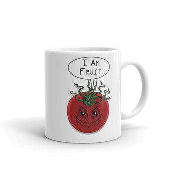 I am Fruit Tomato Guardians Groot Mashup Parody Mug + House Of HaHa Best Cool Funniest Funny Gifts