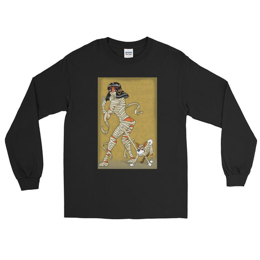 Mummy Pin-Up Men's Long Sleeve T-Shirt + House Of HaHa