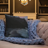 Sunrise Shores Premium Pillow + House Of HaHa Best Cool Funniest Funny Gifts