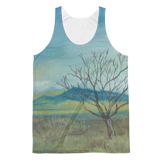 New Mexico Tree Unisex Classic Fit Tank Top by Melody Gardy + House Of HaHa Best Cool Funniest Funny T-Shirts