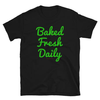 Baked Fresh Daily Short-Sleeve Unisex T-Shirt