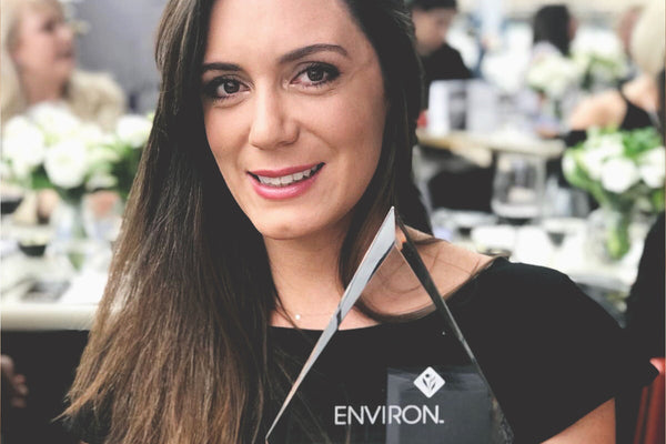 The Facial Room wins the Environ Platinum Award for 2018!