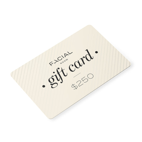 $250 Facial Room Online Shop Gift Card