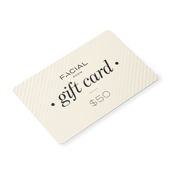 $50 Facial Room Online Shop Gift Card