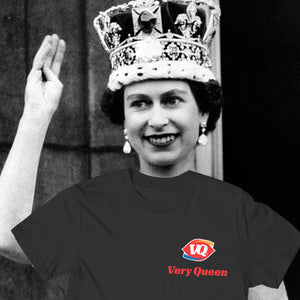 Very Queen Tee In Black
