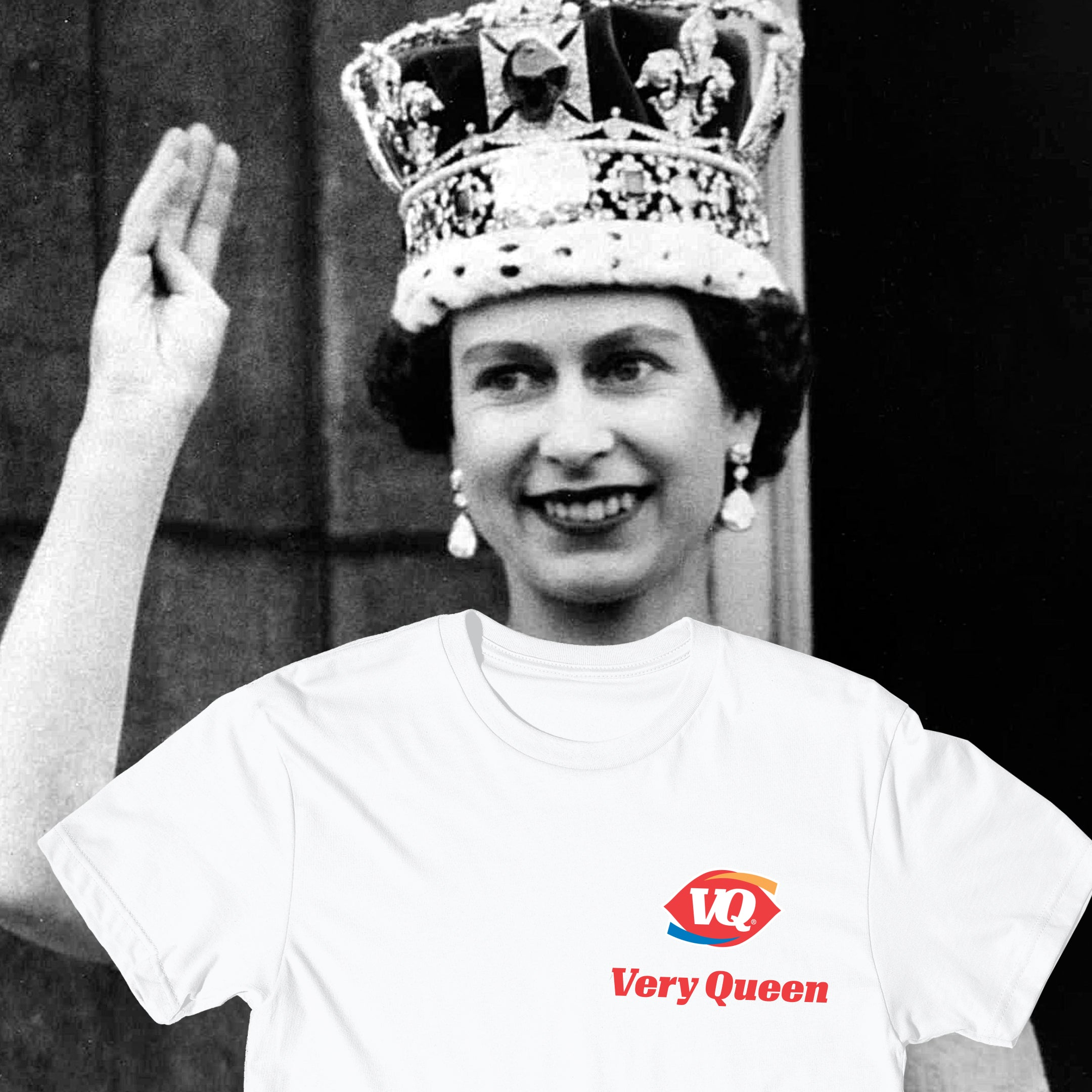 Very Queen Tee In White