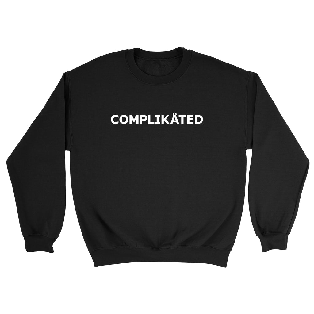 Complikated Black Sweater