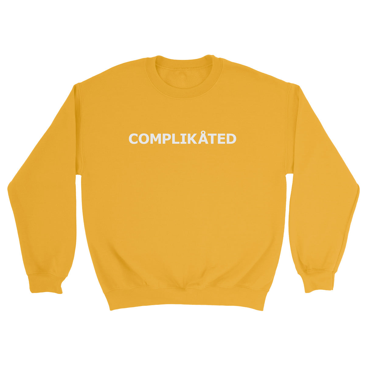 Complikated Yellow Sweater