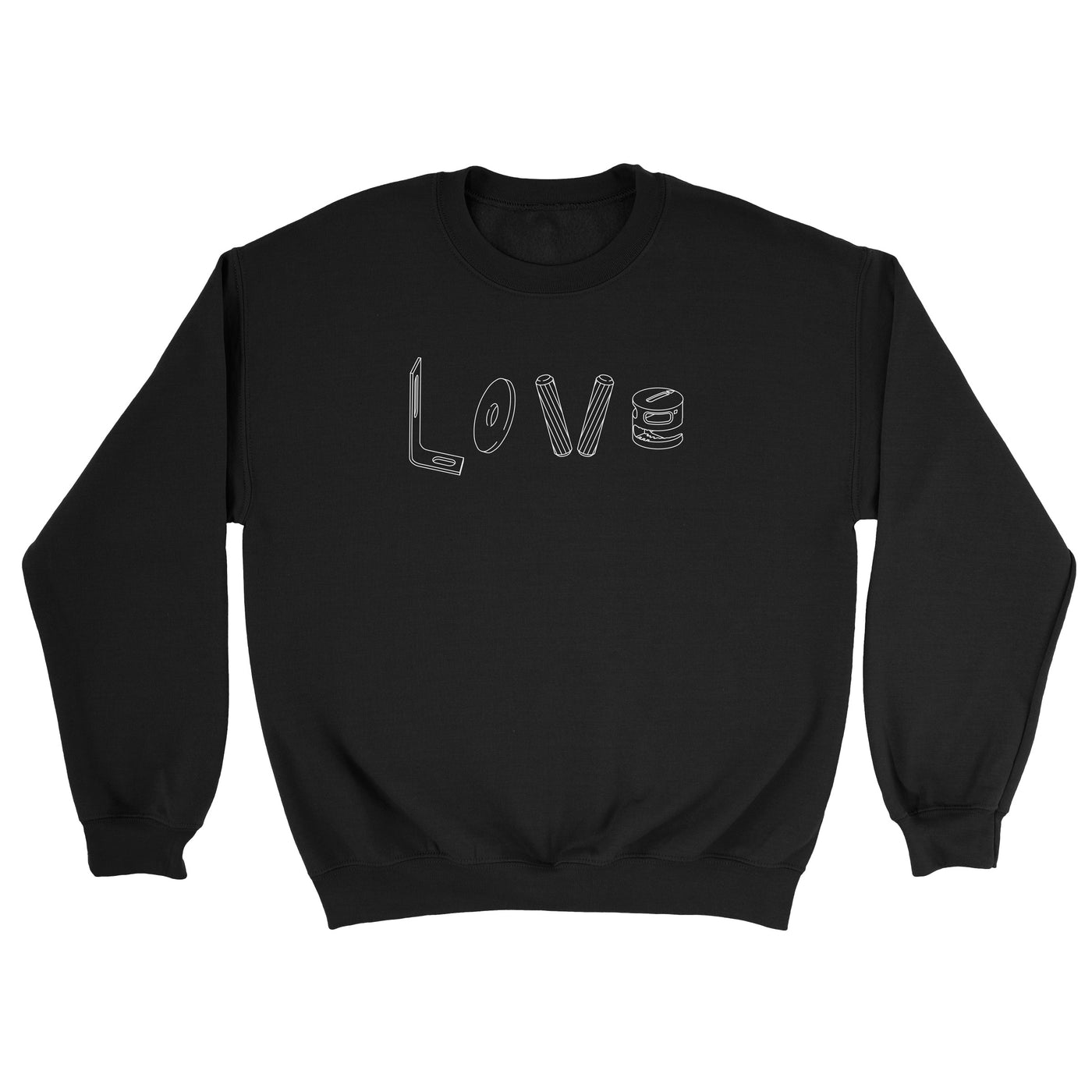 Love Black Sweater