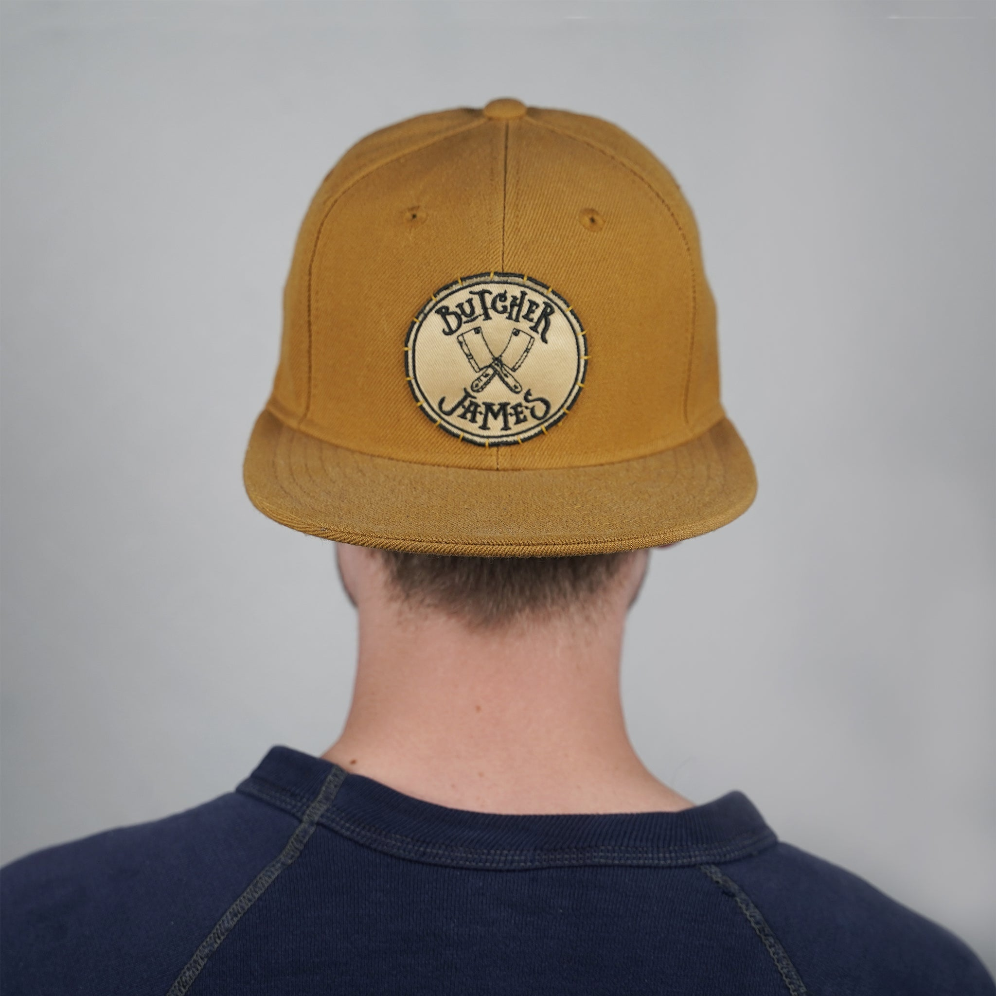 BUTTERSCOTCH FITTED HAT
