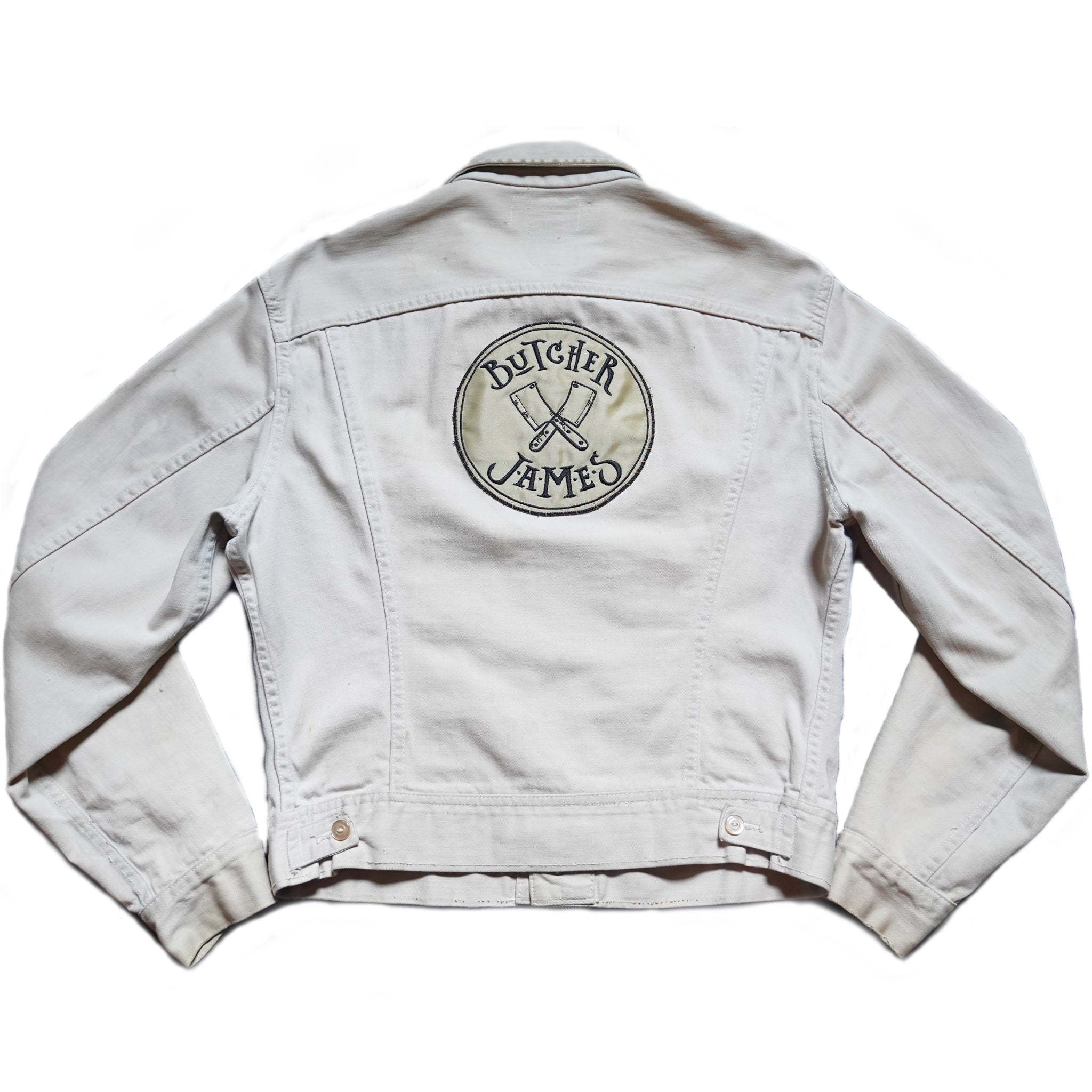CREAM KILLER DENIM JACKET