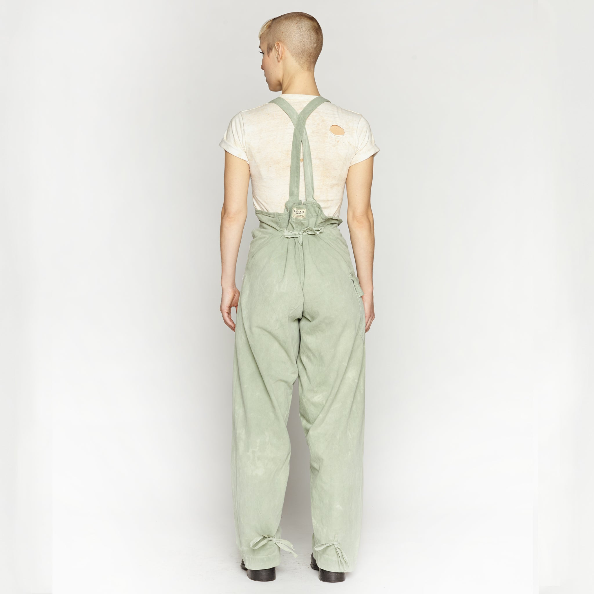 JOLLY GREEN OVERALLS with Pouch