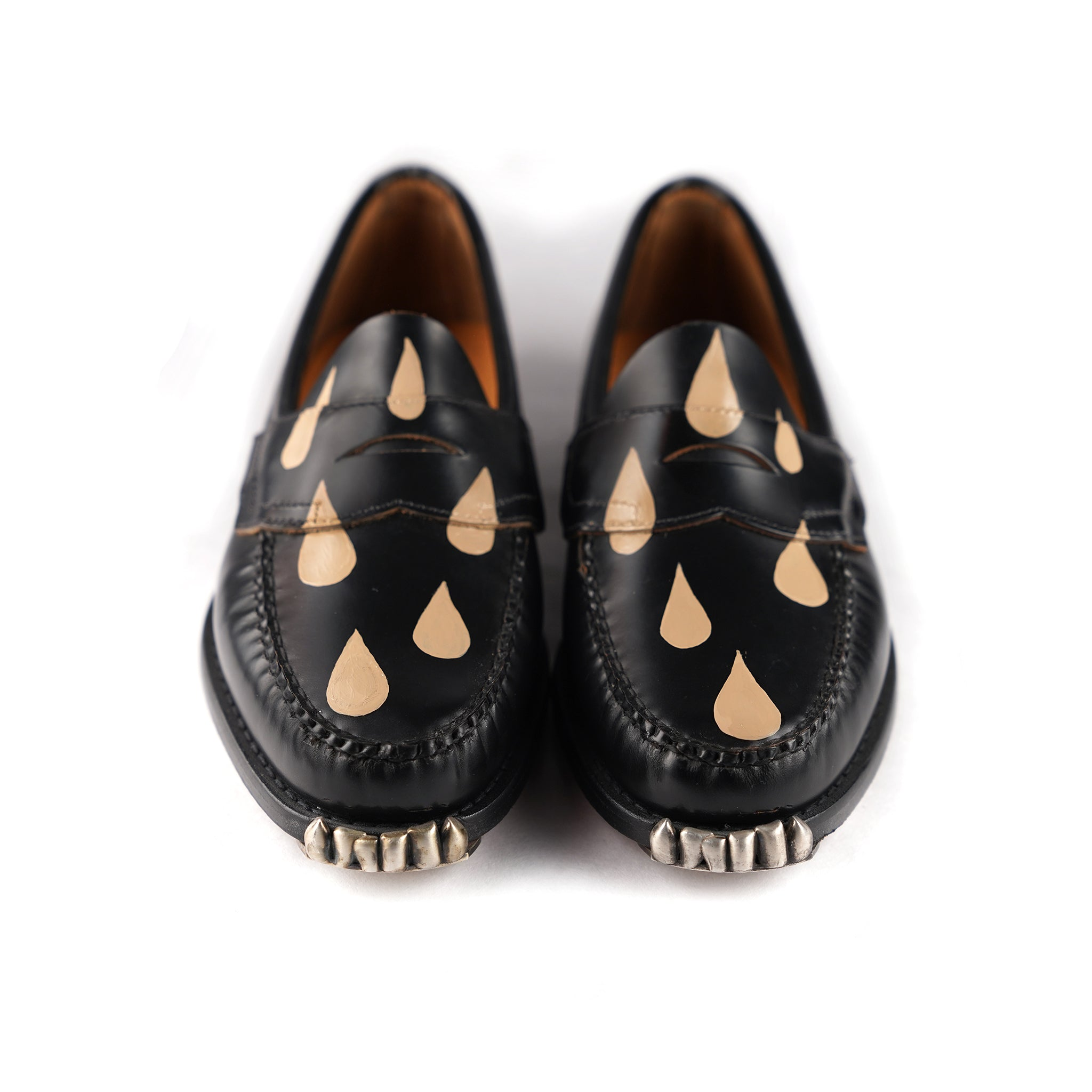 Black+Tan Drippy Loafer