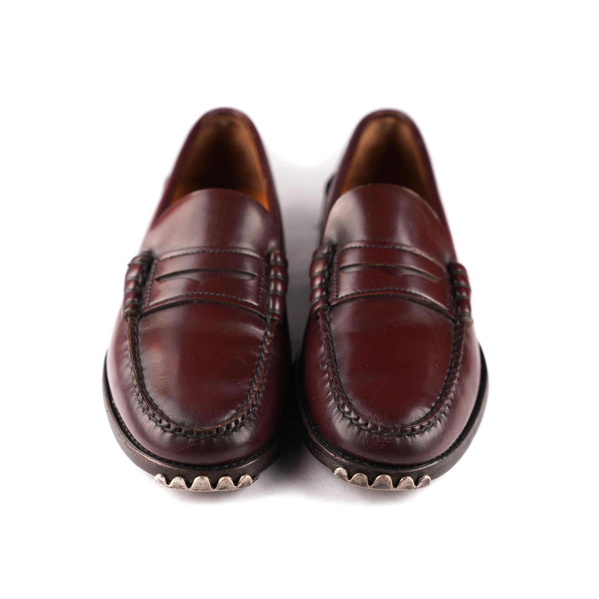 Maroon Plain Jane Loafer