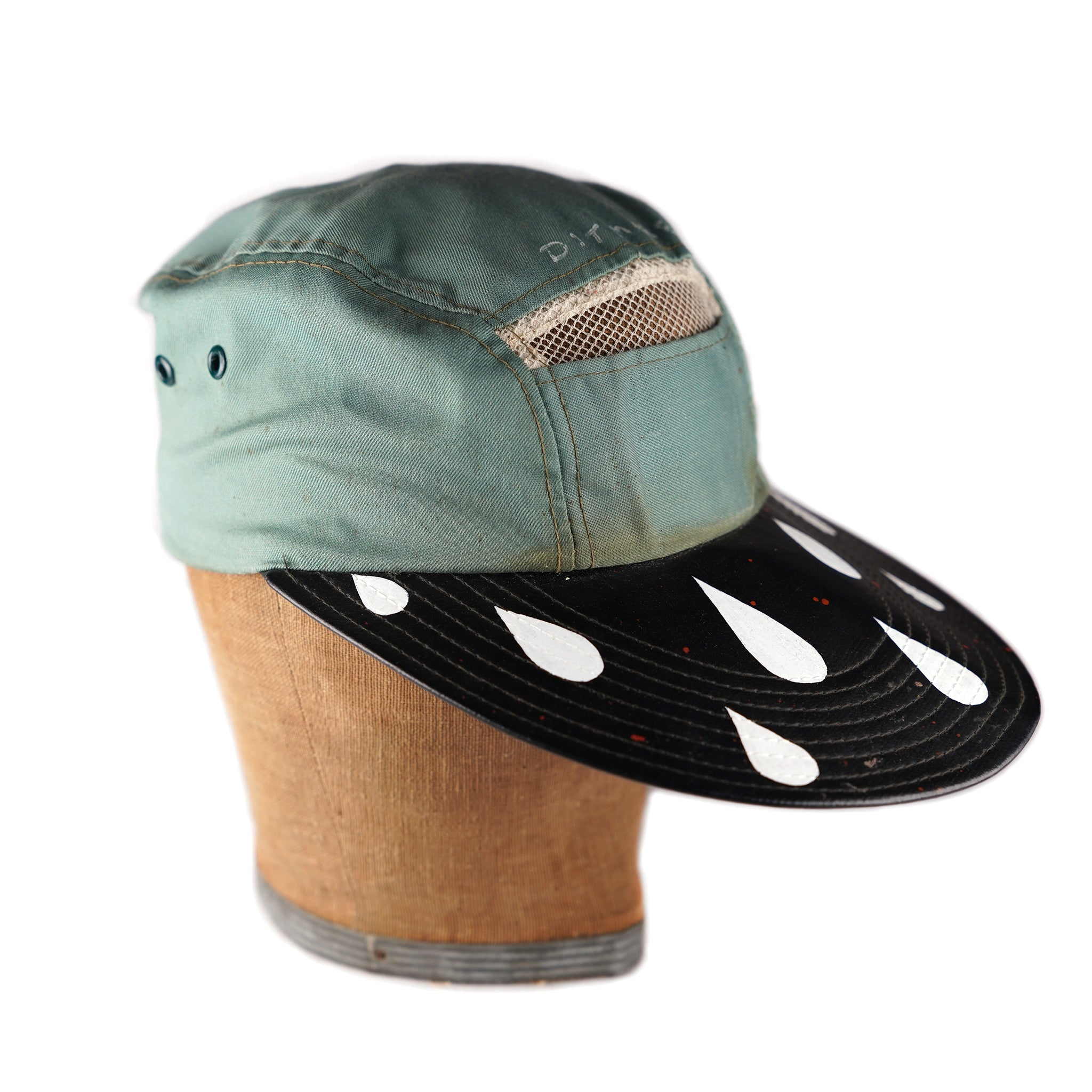 SEAFOAM DRIPPY SHADER HAT