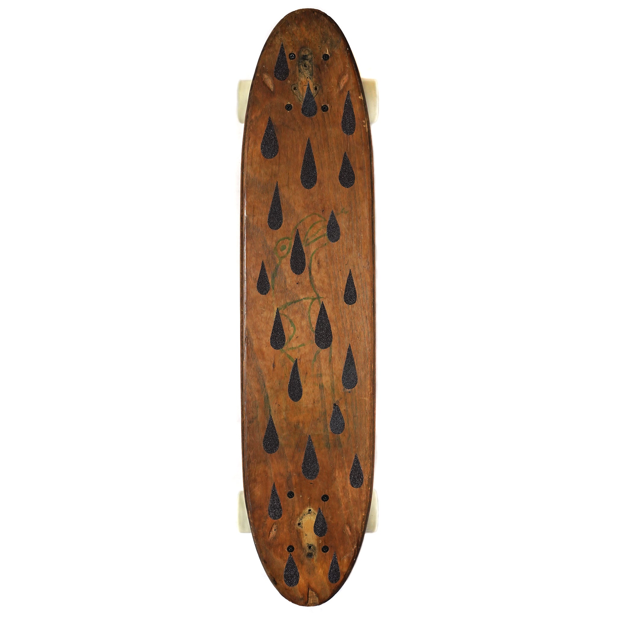 Drippy Black Skateboard