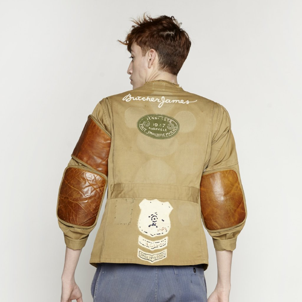 COGNAC PADDED JACKET