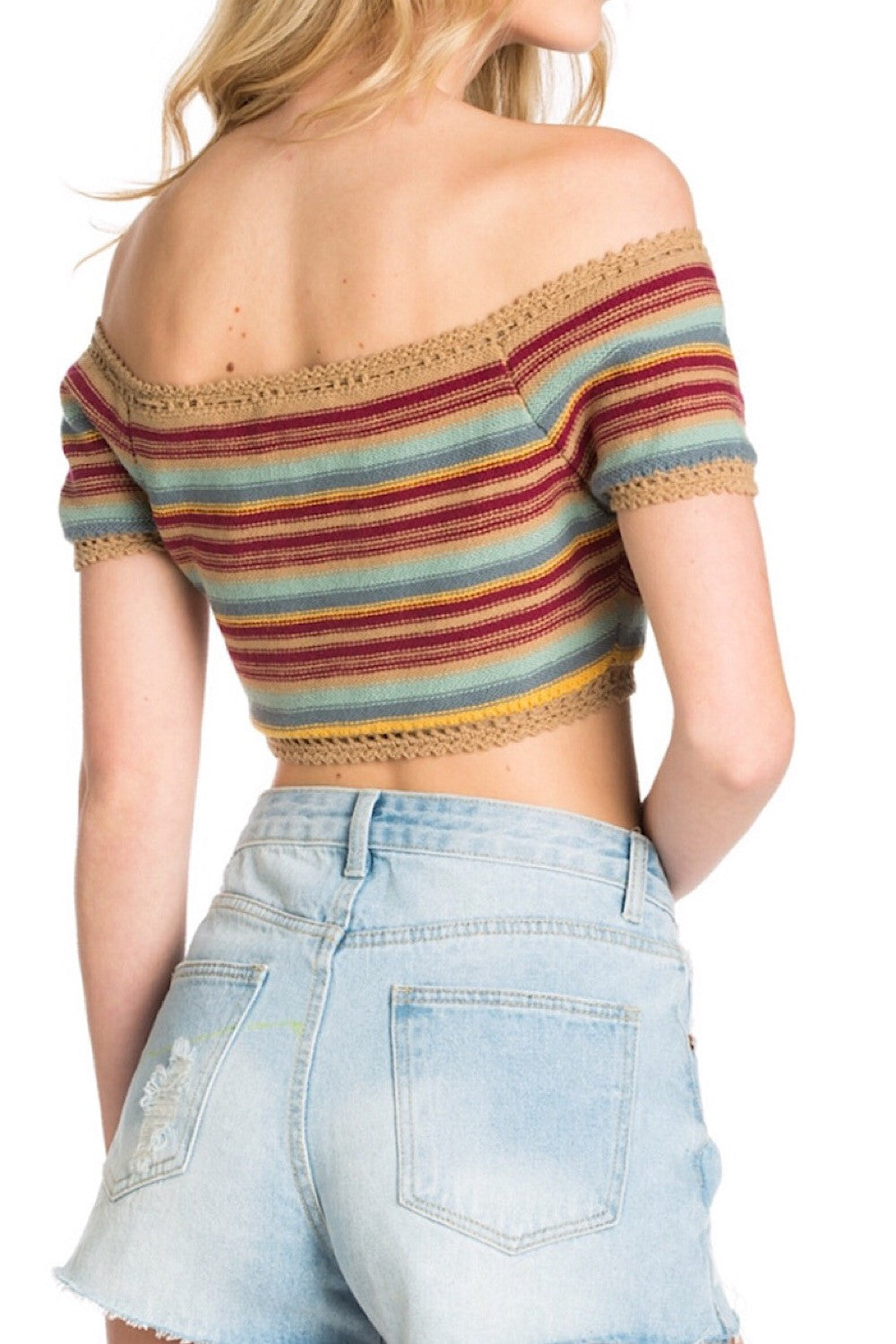 That Thing You Do Retro Sweater Crop
