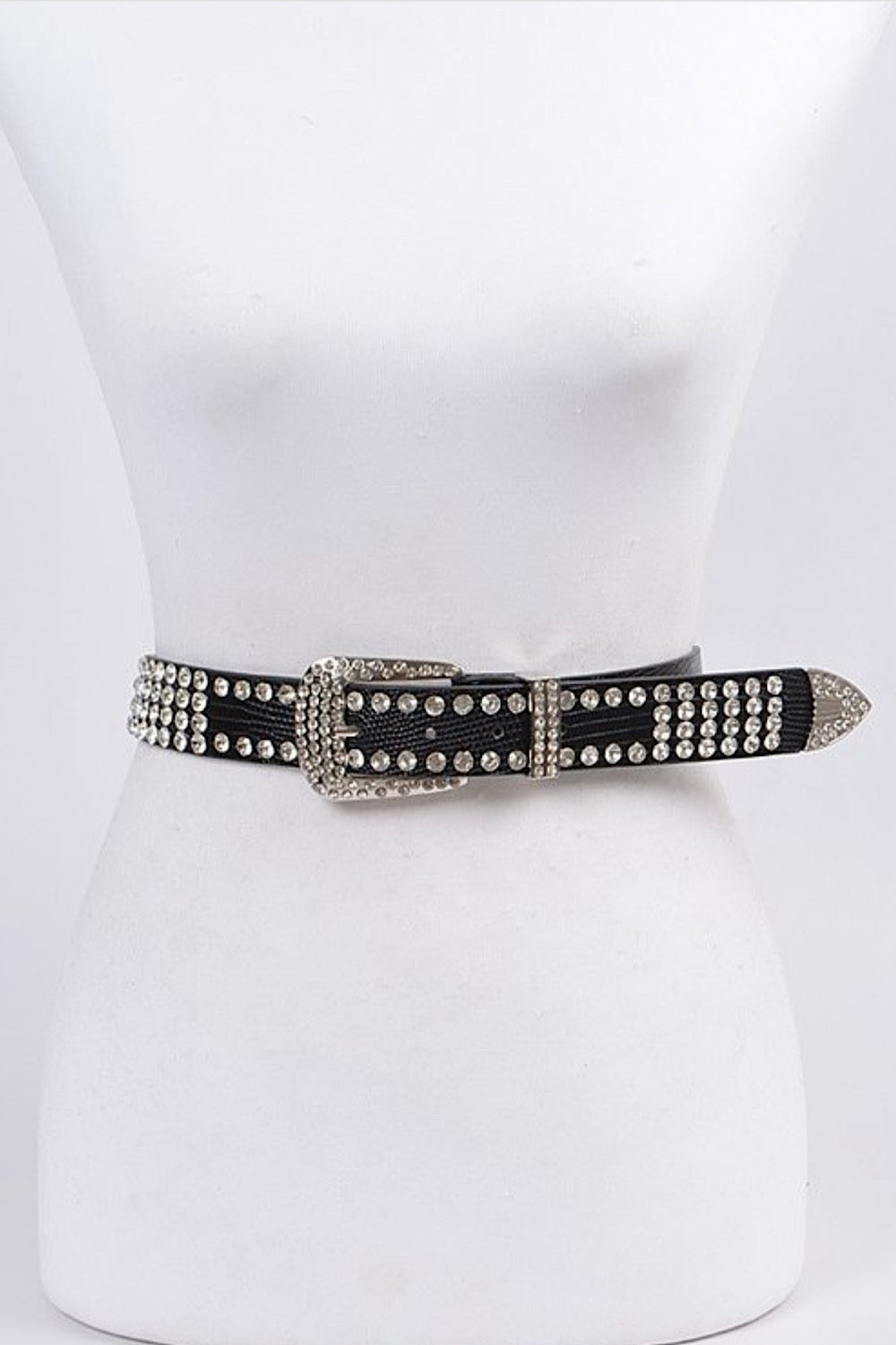 Draw Me In Studded Belt