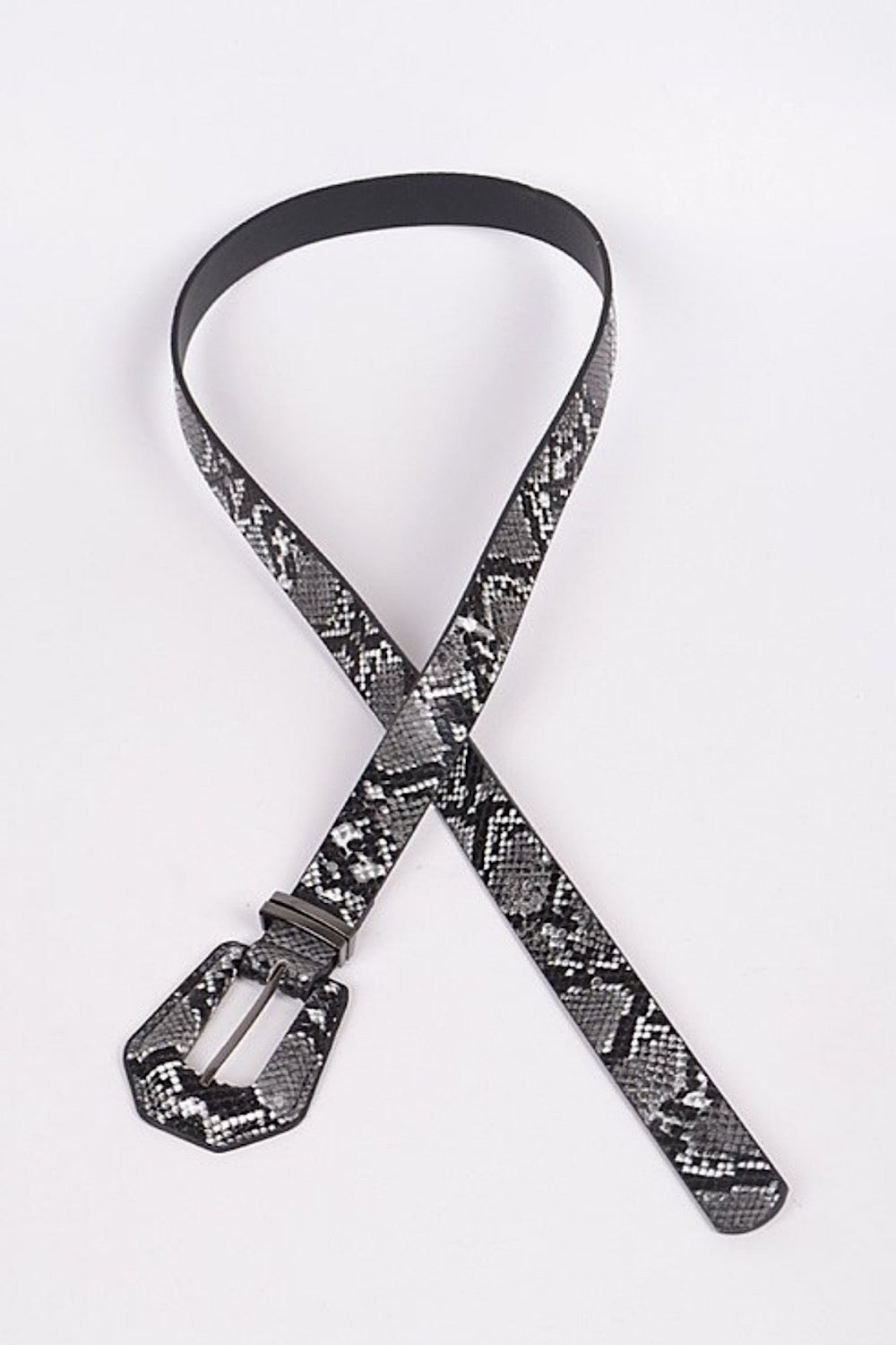 Bite Me Snakeskin Belt