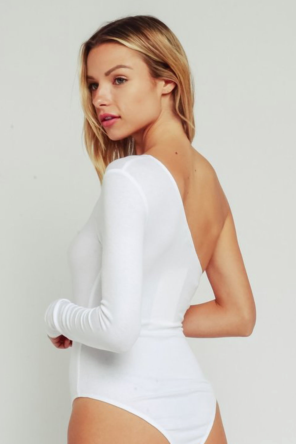 Half Hearted One Shoulder Bodysuit