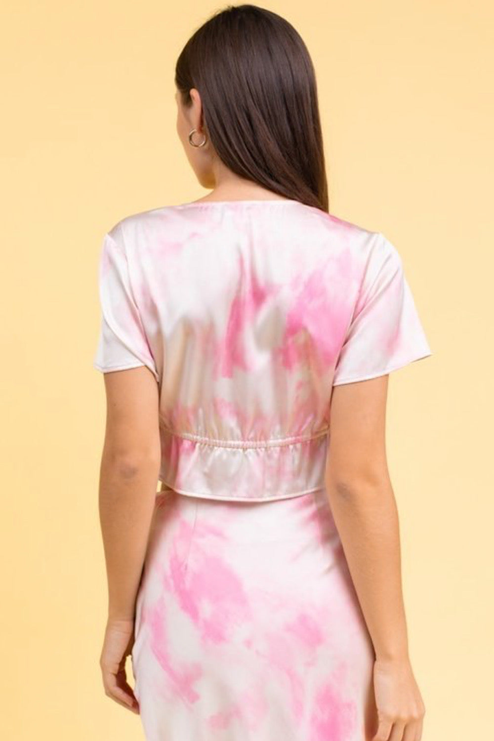 Smooth Talker Tie Dye Top