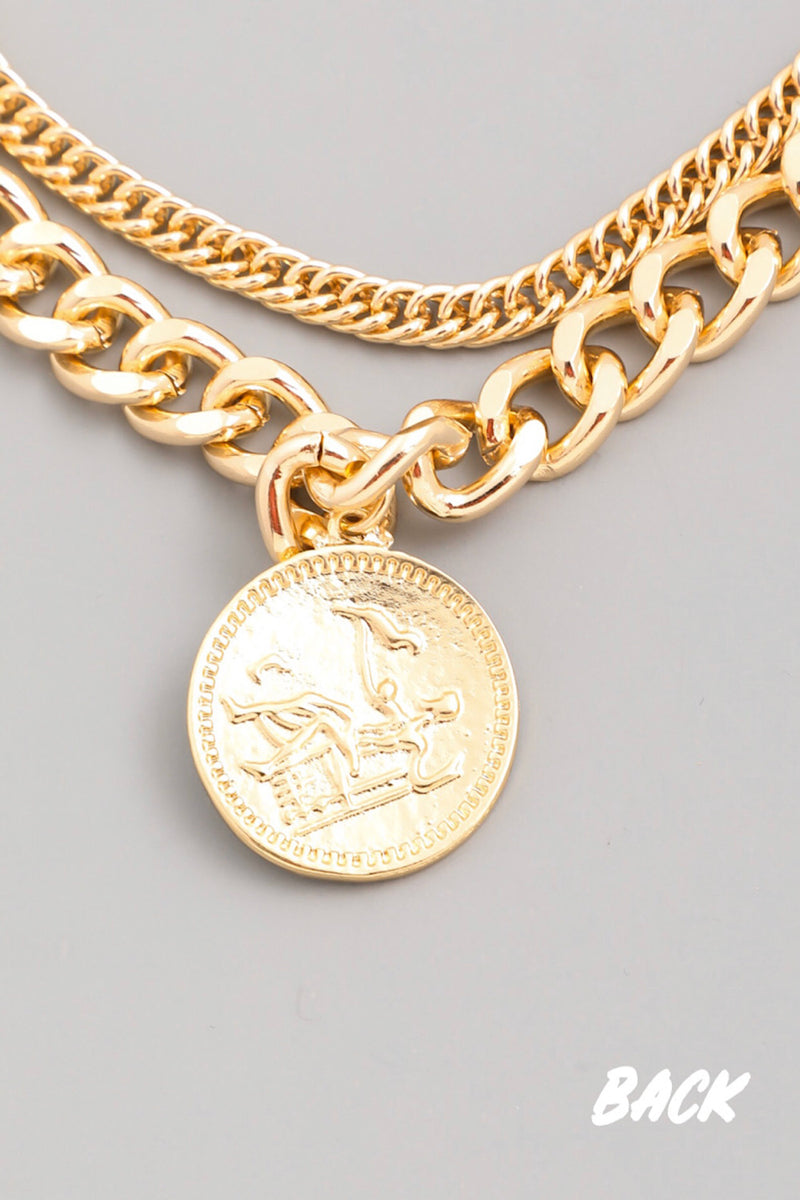 Enchantment Coin Necklace Set